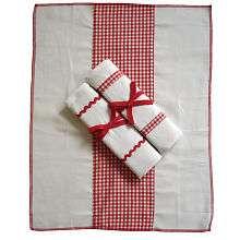 Set of 3 Baby Burp Cloths Red   Tadpoles   Babies R Us