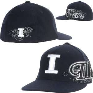 Illini Brigade Team Color Hat One Size Fits All: Sports & Outdoors