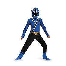 Power Rangers Blue Ranger Samurai Classic Halloween Costume   Child