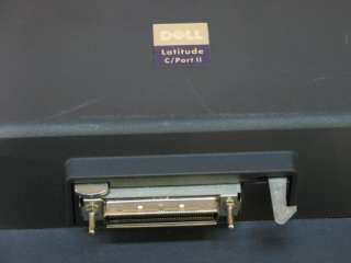 Dell Latitude C/Port II PRX Laptop Docking Station