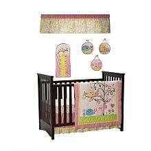 Kids Line Dena Happi Tree 9 Piece Crib Bedding Set   Kids Line
