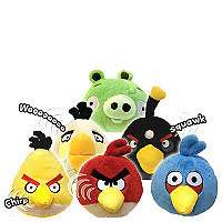 Angry Birds 8 inch Plush with Sound   Blue   Commonwealth Toys