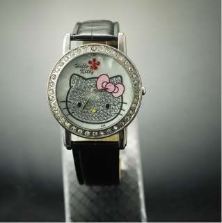 hellokitty Girls Wrist Watch Quartz Fashion lovely Gift Nice