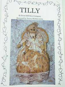TILLY  Teddy Bear Making Pattern  SHBC sewing craft