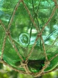 Vintage MAI KAI Tiki Bar Green 5 Glass Ball Float |