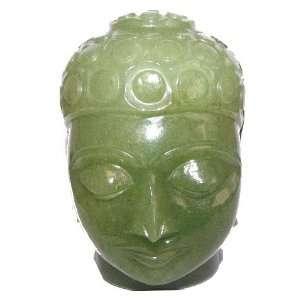 Aventurine Buddha 04 Green Crystal Spiritual Master God