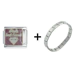 Girls Best Friend Italian Charm Pugster Jewelry
