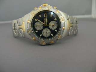 Seiko Men's Watch SDWF20 Stainless Steel Two Tone Chronograph SU19