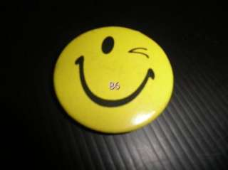10 Diff Smiley Smiling Face Pinback Pin Button Badge