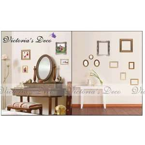 Decor Mural Art Wall Paper Stickers  Photo Frame PS58020 Toys & Games