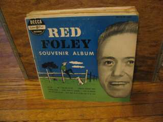 Red Foley Souvenir Album 10 vinyl DECCA EP 1950 DL5303