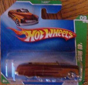 2009 Hot Wheels Treasure Hunt 49 Merc 9/12 #9 New MOC