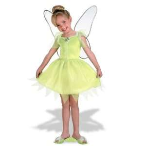 Fairies Tinkerbell Costume Girls Size 7 8 Toys & Games