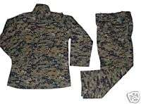 MARPAT Digi Camo BDU Uniform  NEW SHIRT + PANTS SET