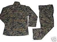 MARPAT Digi Camo BDU Uniform  NEW SHIRT + PANTS SET