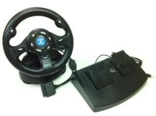 NEW RACING STEERING DRIVING WHEEL FOR PC COMPUTER XP
