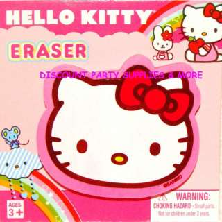 Hello Kitty Face Eraser School Supply Party Favor