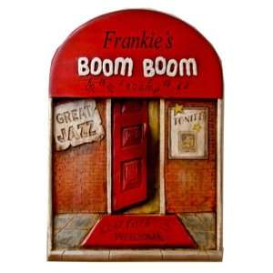 Boom Boom Jazz Club personalized wall plaque Item 794