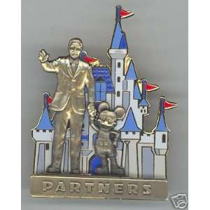 Disney Mickey Mouse & Walt Disney Partners 3D Pin