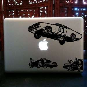 theme dukes of hazzard Macbook pro skin vinyl decal