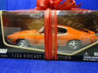 1969 PONTIAC GTO JUDGE DIE CAST MODEL CAR, SIZE 1:24