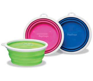 Bamboo Dog Portable SILICONE COLLAPSIBLE TRAVEL BOWL