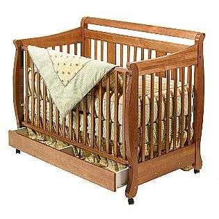 Amish Baby Furniture Crib Changer Solid Wood Nursery Set Conversion