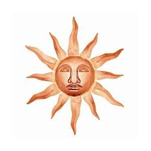 Good Directions Wall Decor Large Sunface 36 Polished Copper Home