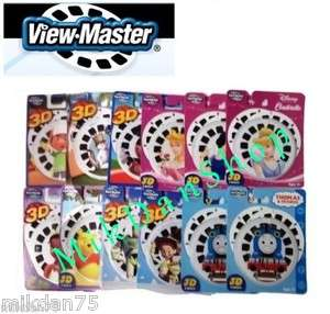 VIEW MASTER DISNEY 3D REELS FISHER PRICE