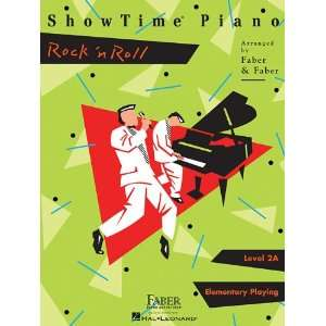 Showtime Piano Rock N Roll Faber Piano Adventures Series