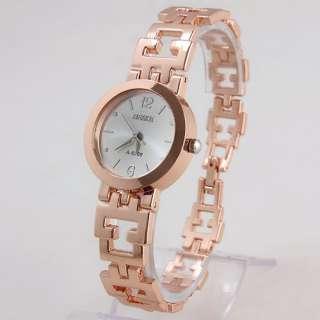Ladies Rose Gold Tone Original Wristband Bracelet Watch