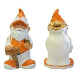 Tennessee Volunteers UT NCAA Garden Gnome 10 Bank Sports & Outdoors