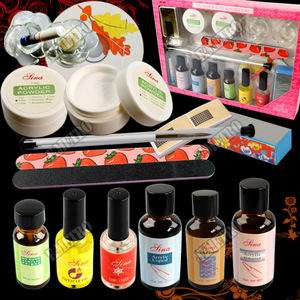 18in1 Nail Art Pro Acrylic Powder Pimer Kit with Video