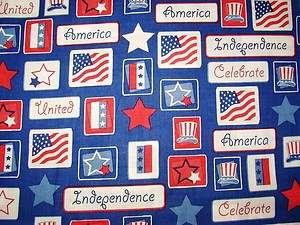 CELEBRATE AMERICA Patriotic SCRUB TOP