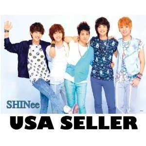 Shinee bluish outfits POSTER 34 x 23.5 Korean boy band fresh faced