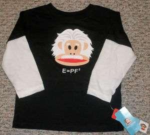 Paul Frank Julius Einstein Monkey Boy T Shirt 18 24M 3T
