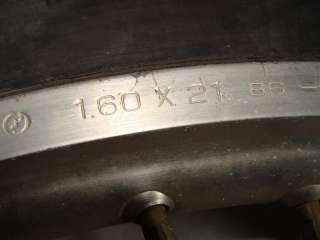 1987 Kawasaki KDX200 Front Wheel Tire Rim   Image 03