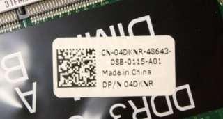 New OEM Dell Studio 1558 Laptop Motherboard   4DKNR