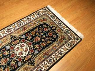 6x8 Beautiful Handmade Silk Persian Tabriz Runner Rug