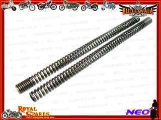 ROYAL ENFIELD HEAVY DUTY FRONT FORK SPRINGS NEW #144219