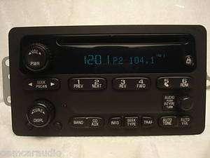 Avalanche Escalade SSR Yukon Radio CD Player 15104155 UB0 2003 2004