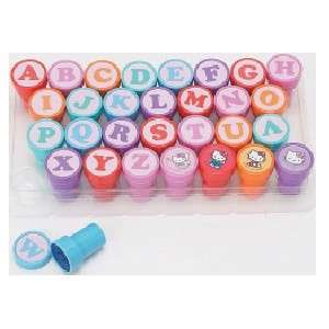 Sanrio Hello Kitty Fairy Alphabet Pencil Top Stamp Set