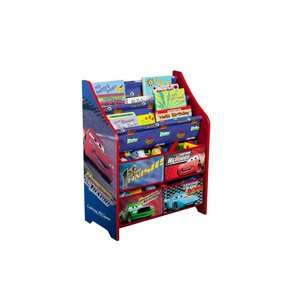 Disney Cars Toy & Book Bin Organizer Storage Bins for Toys & Cars
