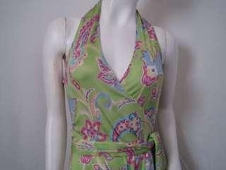 1998 Ralph Lauren Dress Silk Jersey 6 S #0006DG