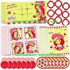 Strawberry Shortcake Deluxe Birthday Party Pack for 8 items in