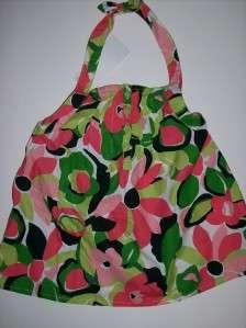 NWT GYMBOREE Palm Beach Paradise Black Pink Floral Print Halter Top Sz