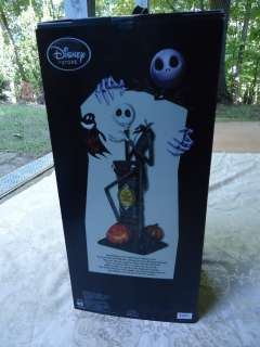 Up Jack Skellington RETIRED Big Figurine NIGHTMARE BEFORE CHRISTMAS