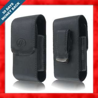 LEATHER CLIP SIDE CASE POUCH FOR TracFone LG 800G 800 G