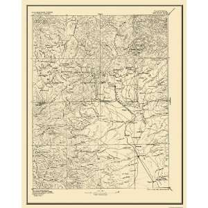 USGS TOPO MAP RED BLUFF SHEET CALIFORNIA (CA) 1894 Home
