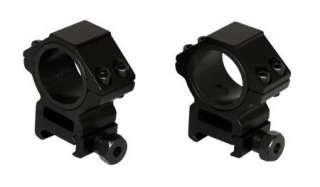 Heavy Duty Medium Profile 30mm Weaver Scope Rings 1 insert